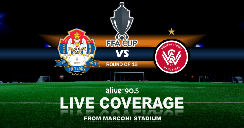 The FFA Cup on 90.5 FM