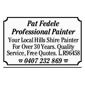 Pat Fedel PAINTERS