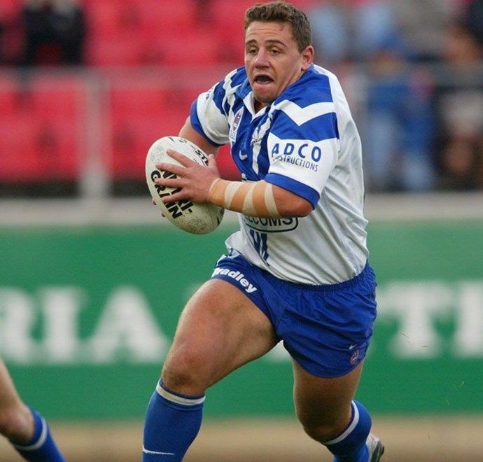 Adam Perry from the Canterbury Bulldogs
